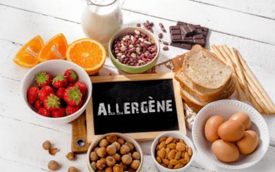 Allergènes et ingrédients responsables d'intolérances alimentaires